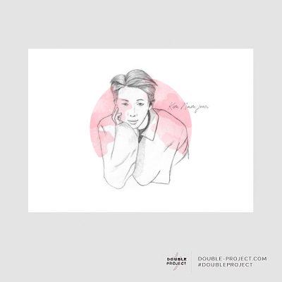 Lámina RM BTS | Double Project