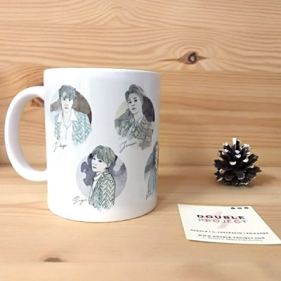 Taza Grupo BTS | Double Project