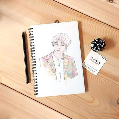 Libreta Espiral V BTS | Double Project