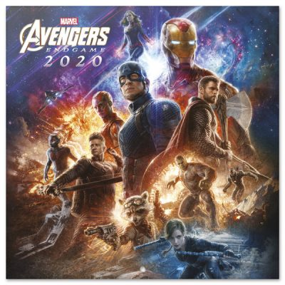 Marvel Calendario Avengers 2020 | Double Project