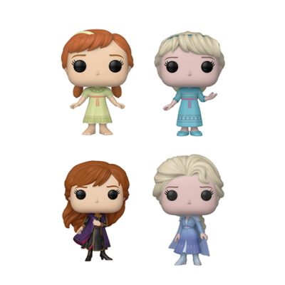 Disney Frozen 2 POP 2 Anna & 2 Elsas | Double Project