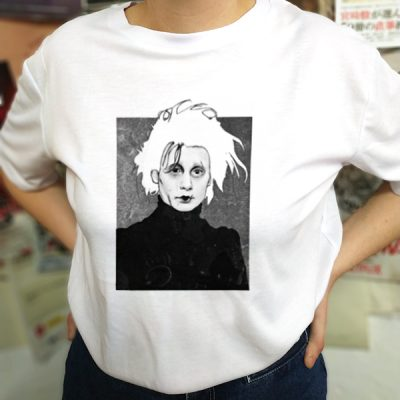 Camiseta edward scissorhands frame | Double Project