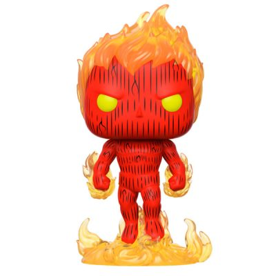 Marvel POP Los 4 Fantásticos Human Torch | Double Project