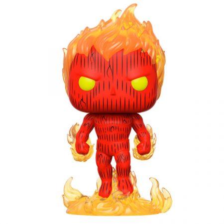Marvel POP Los 4 Fantásticos Human Torch | Double Project