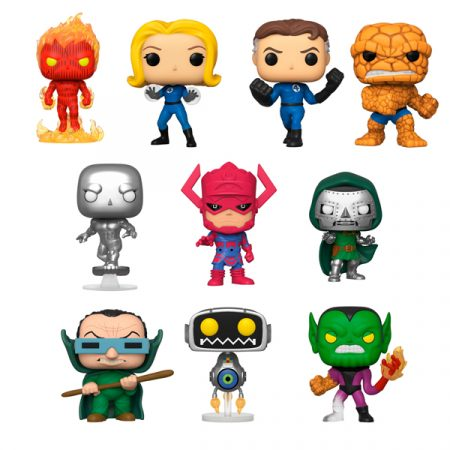 Marvel POP Los 4 Fantásticos Pack | Double Project