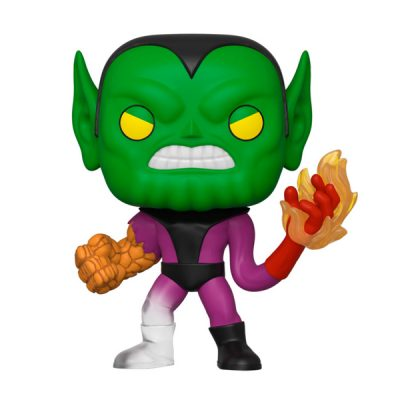 Marvel POP Los 4 Fantásticos Super-Skrull | Double Project