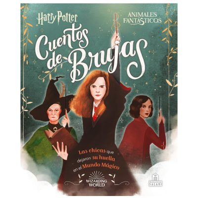 Libro Cuentos de Brujas, harry Potter | Double Project