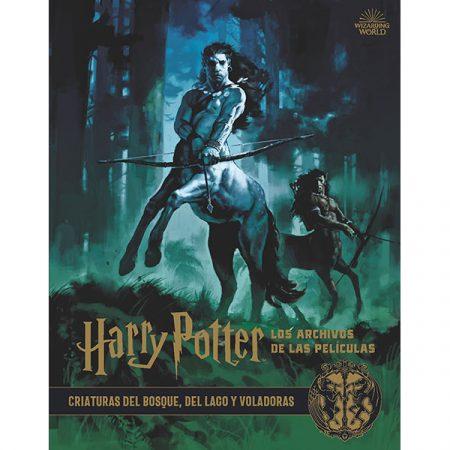 Libro Harry Potter: Los archivos de las películas 1. CRIATURAS DEL BOSQUE, DEL LAGO Y VOLADORAS | Double Project