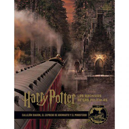Libro Harry Potter: Los archivos de las películas 2. Callejon Diagon, El expresso de Hogwarts y el Ministerio | Double Project