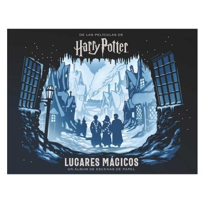 Libro Harry Potter Lugares Mágicos un álbum de escenas de papel | Double Project