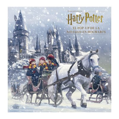 Libro HARRY POTTER EL POP UP DE LA NAVIDAD EN HOGWARTS | Double Project