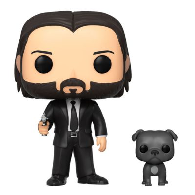 John Wick POP John Wick John in Black Suit with Dog | Double Project