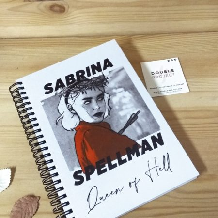 Libreta Espiral Sabrina Queen of hell   Double Project