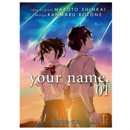 Manga Your Name 1   Double Project