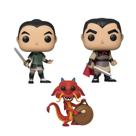Disney Mulan POP Pack Mulan + Mushu + Li Shang | Double Project