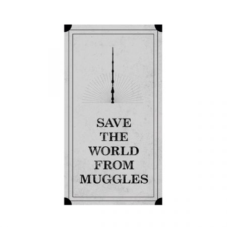 Parche Save the world from muggles | Double Project