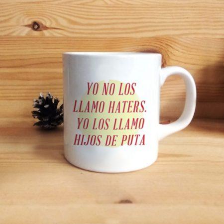 Taza Yo no los llamo Haters | Double Project