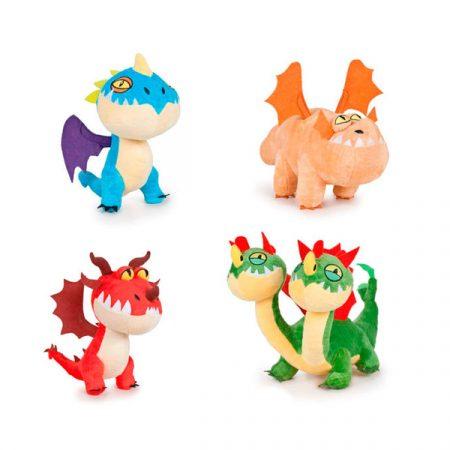 Cómo entrenar a tu dragón Peluches Dragones 40cm | Double Project