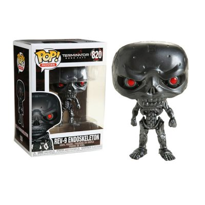 Terminator Dark Fate POP Rev-9 Endoskeleton | Double Project