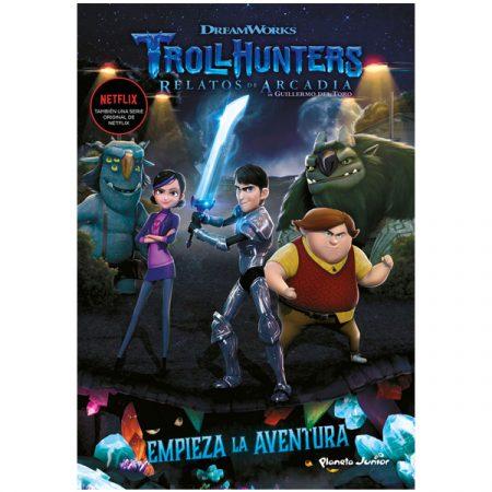 Libro Trollhunters relatos de Arcadia 1 Empieza la Aventura | Double Project