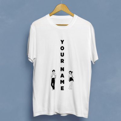Camiseta Columna Your Name | Double Project
