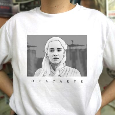 Camiseta Dracarys | Double Project