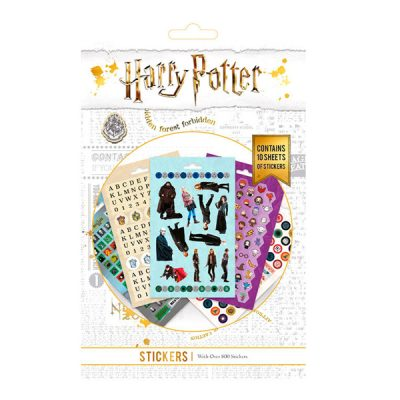 Harry Potter Set de Pegatinas 800 stickers | Double Project