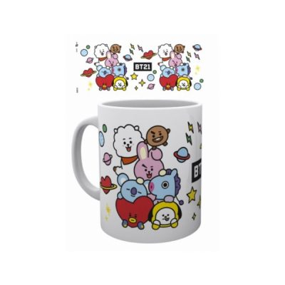 BT21 taza personajes bt21 | Double Project