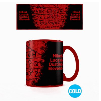 Stranger Things Taza sensitiva al calor RUN | Double Project