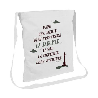 Tote bag con asas largas Frase Dumbledore | Double Project