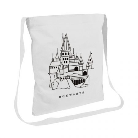 Tote bag con asas largas Hogwarts | Double Project