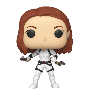 Marvel Black Widow Funko POP Black Widow (White Suit) | Double Project