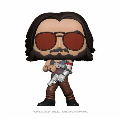 [Pre-order] Cyberpunk 2077 Funko POP Johnny Silverhand II | Double Project