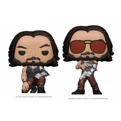Cyberpunk 2077 Funko POP Pack Johnny Silverhand | Double Project