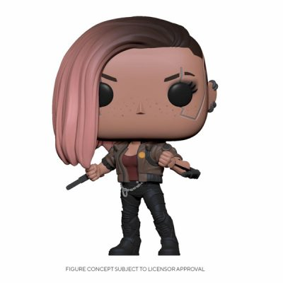 Cyberpunk 2077 Funko POP V-Female | Double Project