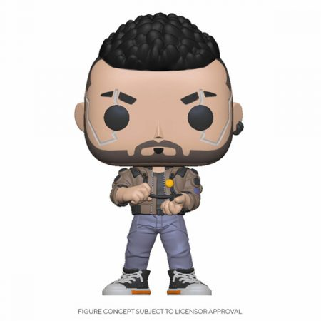 Cyberpunk 2077 Funko POP V-Male | Double Project