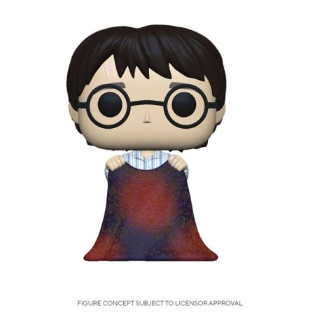 Harry Potter Funko POP Harry with Invisibility Cloak | Double Project