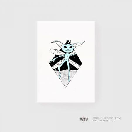 Lámina Duendecillo Cornualles | Double Project