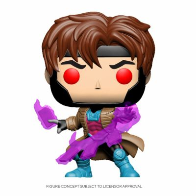 Marvel Comics POP Gambit with Cards | Double Project
