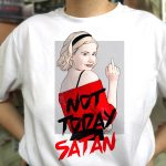 Camiseta Not Today Satan | Double Project