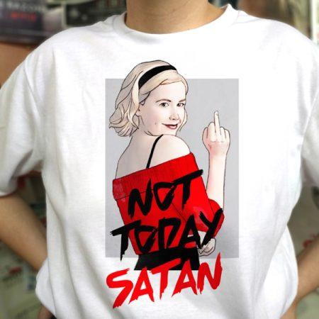 Camiseta Not Today Satan | Double Project