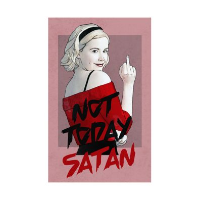 Parche Not Today Satan | Double Project