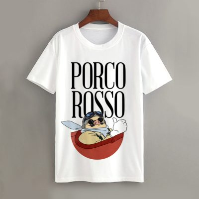 Camiseta Porco Rosso | Double Project