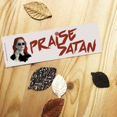 Punto de libro Praise Satan   Double Project