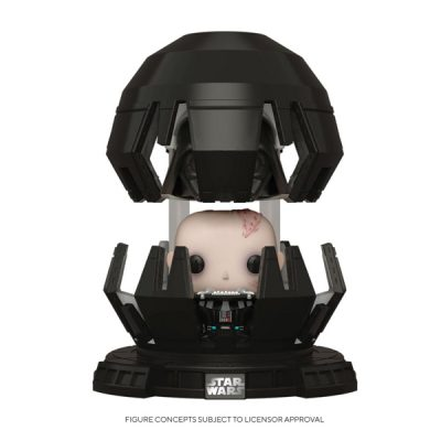 Star Wars Funko POP Deluxe Darth Vader in Meditation Chamber | Double Project