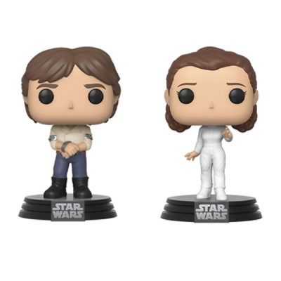 Star Wars Funko POP Pack Han & Leia Empire Strikes Back 40th Anniversary | Double Project