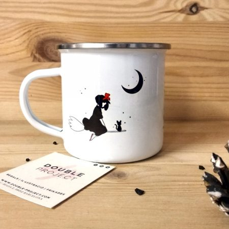 Taza vintage metálica If I love my Magic | Double Project