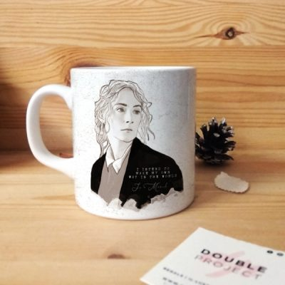 Taza I intend to make my own way in the world | Double Project