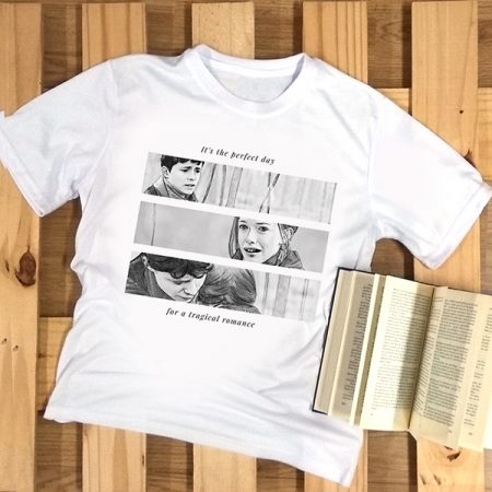 Camiseta It's the perfect day for a tragical romance | Double Project