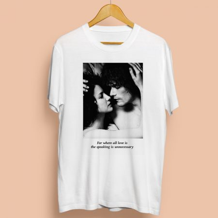 Camiseta Speaking is unnecessary | Double Project